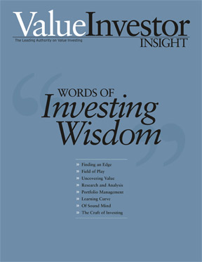 Value Investor Insight's Words of Investing Wisdom